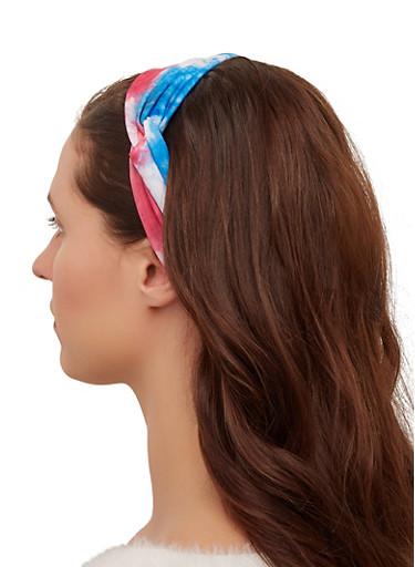 Tie Dye Head Wrap,MULTI COLOR,large