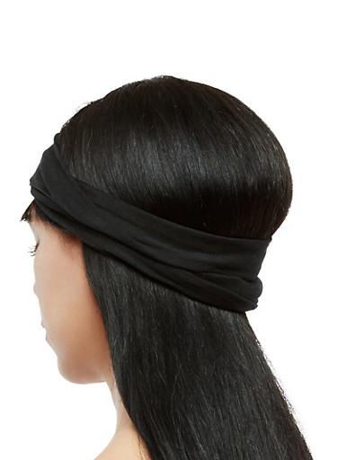 Multi Wear Head Wrap,BLACK,large