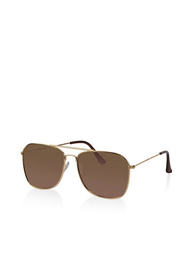 Mirrored Aviator Sunglasses | Tuggl