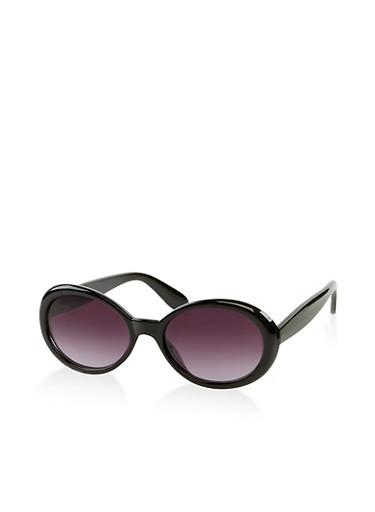 Oval Sunglasses | 1134073212100,BLACK,large