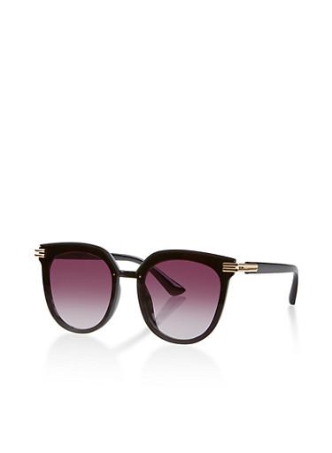 Plastic Colored Sunglasses | 1134073213131,BLACK,large