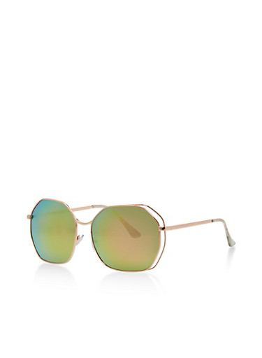Geometric Shape Sunglasses   Tuggl