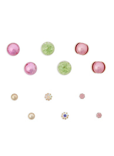 Set of Reversible and Stud Earrings | Tuggl