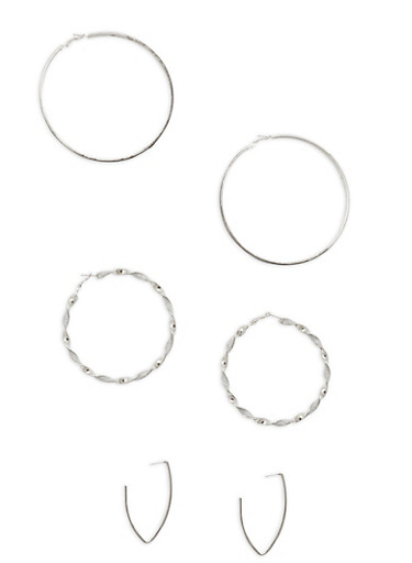 Assorted Earring Trio | Tuggl