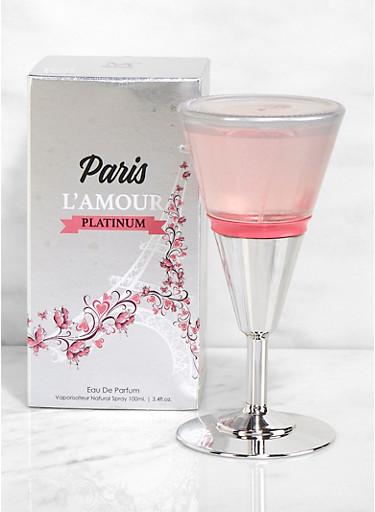 Paris L Amour Platinum Perfume,CLEAR,large