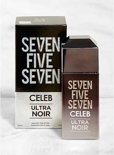 Seven Five Seven Celeb Ultra Noir Cologne,CLEAR,large