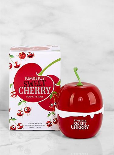 Kimberly Sweet Cherry Perfume,CLEAR,large