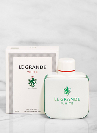 Le Grande White Cologne,CLEAR,large