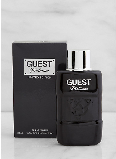 Guest Platinum Limited Edition Cologne,CLEAR,large