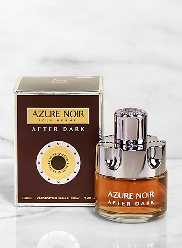 Azure Noir After Dark Mens Cologne,CLEAR,large