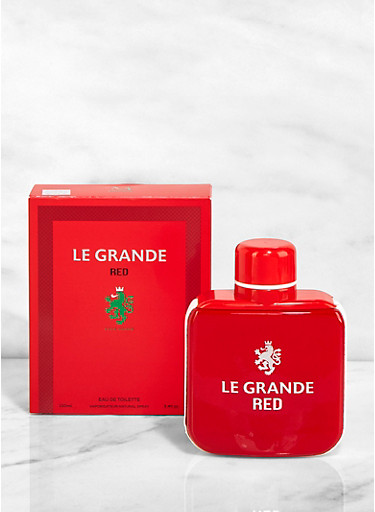 Le Grande Red Cologne For Men,CLEAR,large