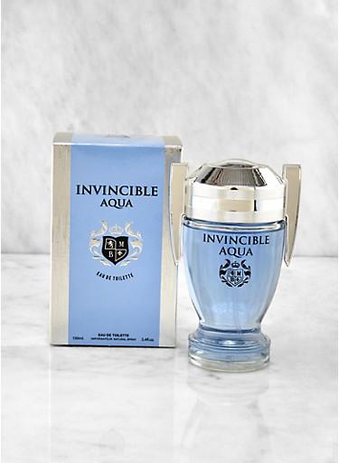 Invincible Aqua Cologne,CLEAR,large