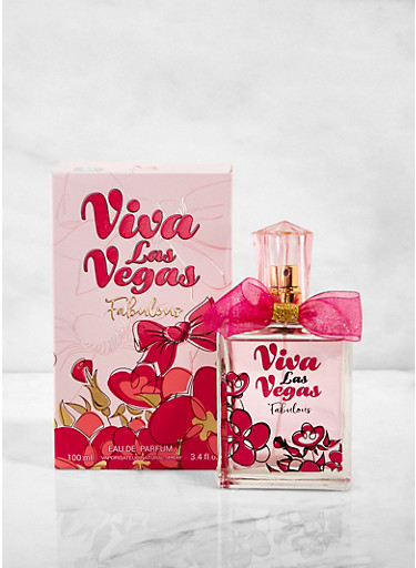 Viva Las Vegas Fabulous Perfume,CLEAR,large