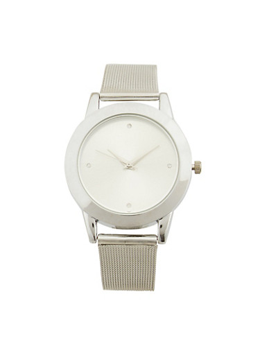Metal Mesh Strap Watch | Tuggl