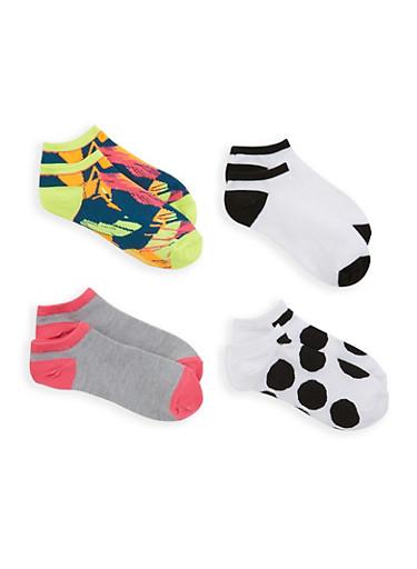 4 Pack of Ankle Socks | Tuggl