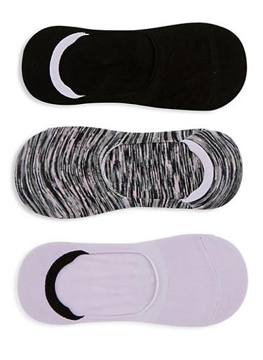 3 Pack No Show Socks | Tuggl