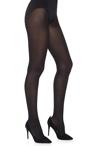 Footed Tights,BLACK,large