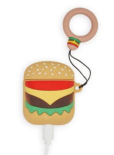 Cheeseburger AirPods Case,MULTI COLOR,large