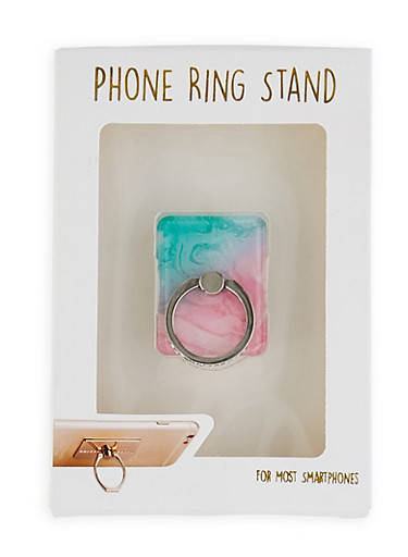 Marble Phone Ring Stand,PINK,large
