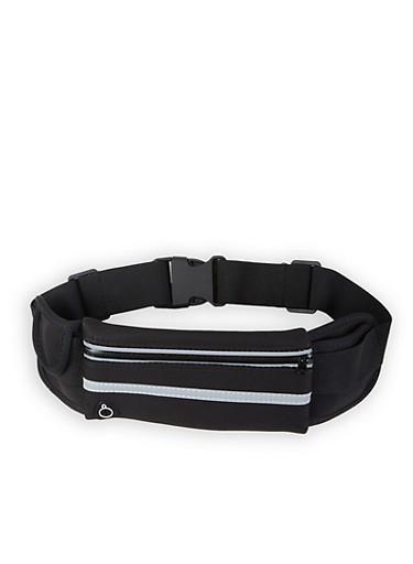 Running Belt,BLACK,large