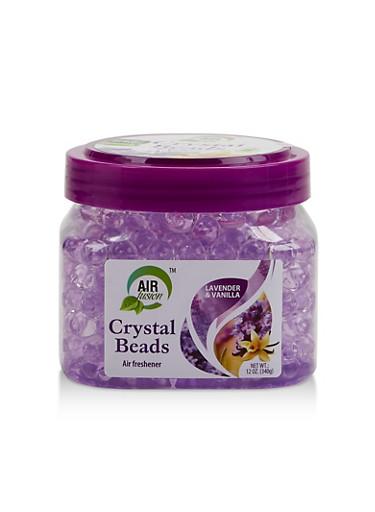 Lavender and Vanilla Crystal Beads Air Freshener,PURPLE,large