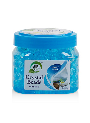Linen Crystal Beads Air Freshener,BLUE,large
