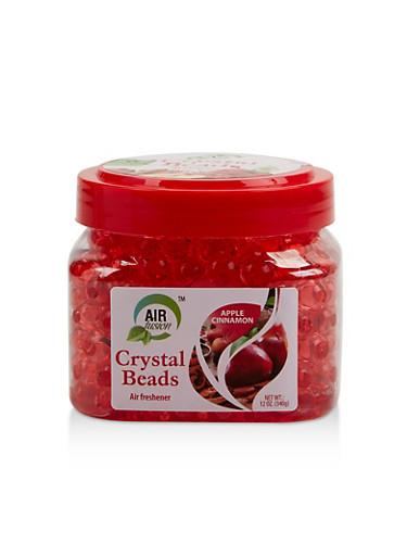 Apple Cinnamon Crystal Beads Air Freshener,RED,large