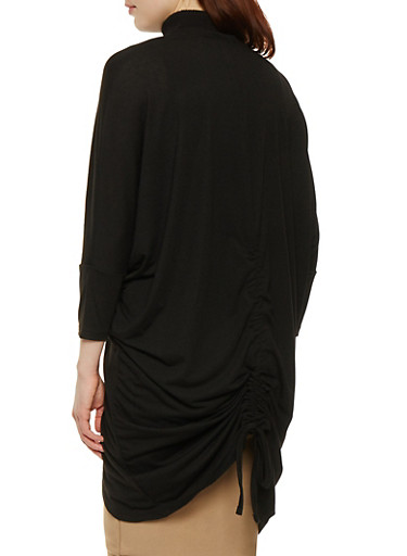 Ruched Back Cocoon Cardigan | Tuggl