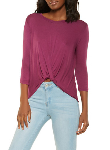 Twist Front Top | Tuggl