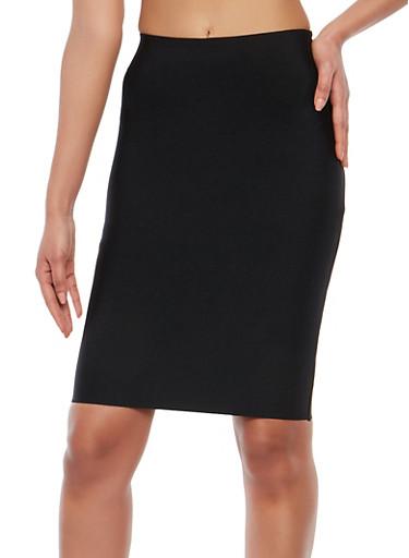 Bandage Pencil Skirt,BLACK,large