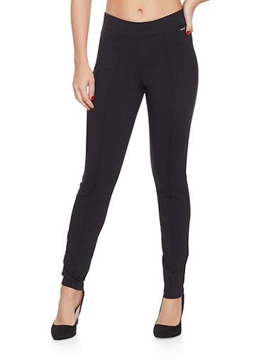 Pintuck Dress Pants,BLACK,large