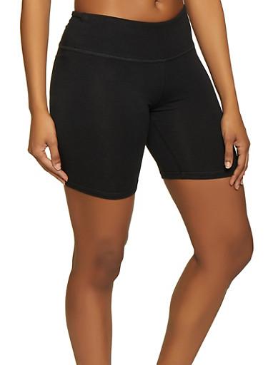 Cotton Bike Shorts,BLACK,large