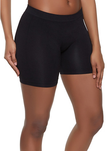 Basic Bike Shorts,BLACK,large