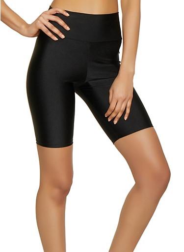 Spandex Bike Shorts | 1411068195072,BLACK,large