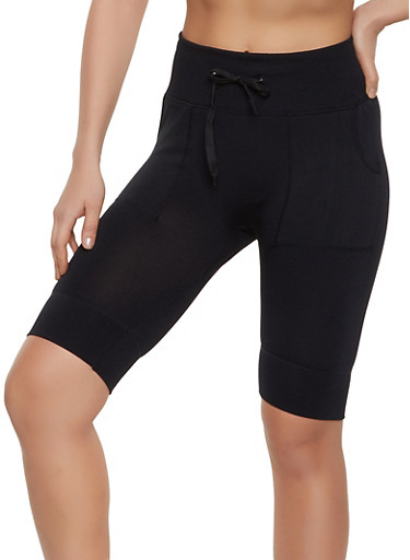 Pork Chop Pocket Bike Shorts,BLACK,large