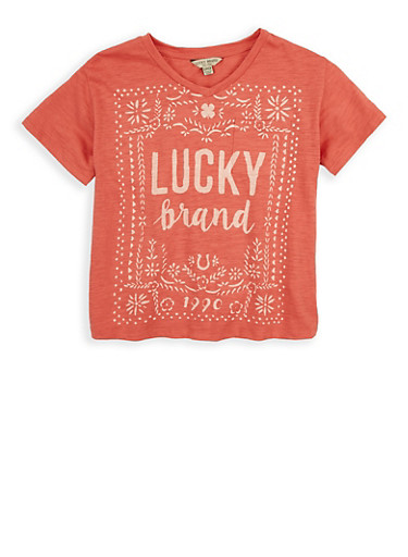 Girls 7-16 Lucky Brand Graphic Tee | Tuggl