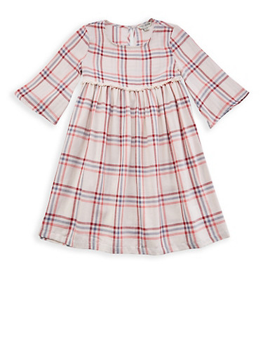Girls 7-16 Lucky Brand Plaid Dress | Tuggl