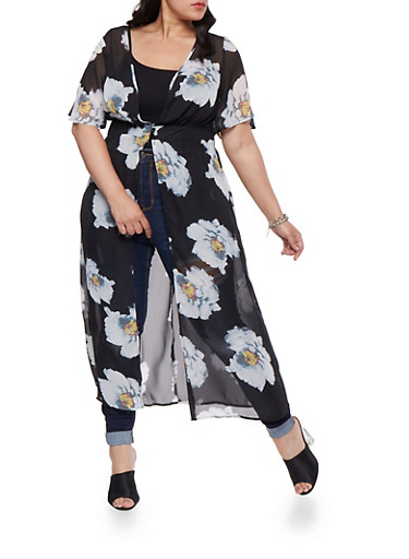 Plus Size Floral Maxi Top | Tuggl
