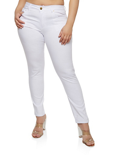 Plus Size VIP Push Up Skinny Jeans | Tuggl