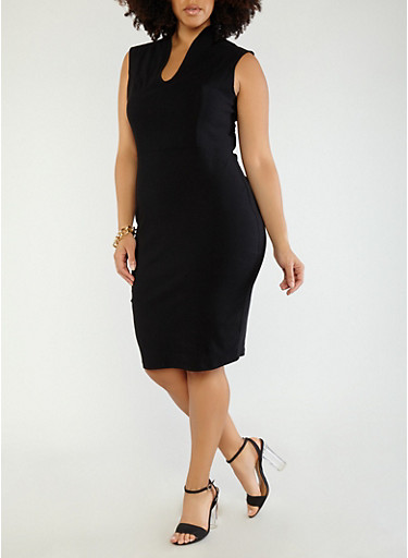 Plus Size Sheath Dress | Tuggl