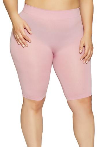 f15fe6578db Plus Size Seamless Bike Shorts