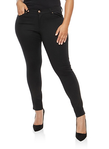 Plus Size Push Up Jeggings | Tuggl
