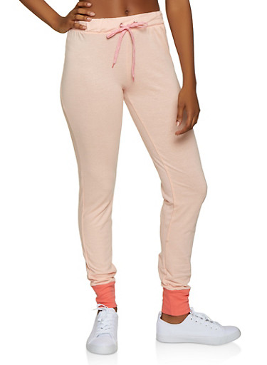 French Terry Joggers | 3056035162231,PINK,large
