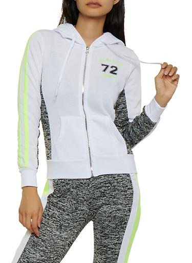 Athletic Dept 72 Hooded Sweatshirt,YELLOW,large