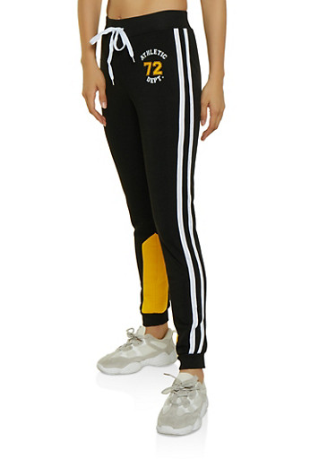 Athletic 72 Dept Joggers,BLACK,large