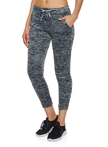 Fleece Lined Two Pocket Joggers,CHARCOAL,large