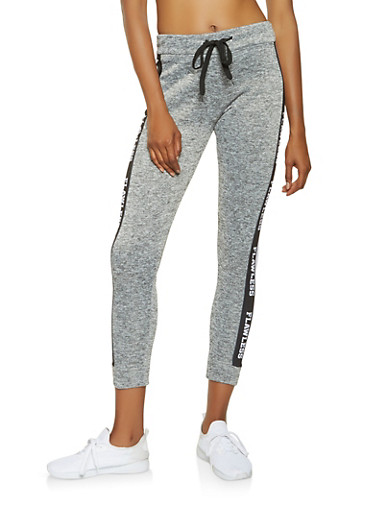 Flawless Graphic Joggers,BLACK,large