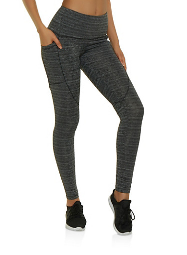 Active Two Pocket Leggings,CHARCOAL,large