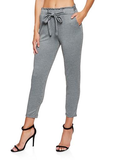 Houndstooth Dress Pants,BLACK/WHITE,large