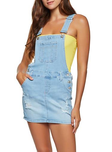 Wax Distressed Skirt Fashion Washed High Waist Heels Denim Jeans Skirt For Summer Denim, Large